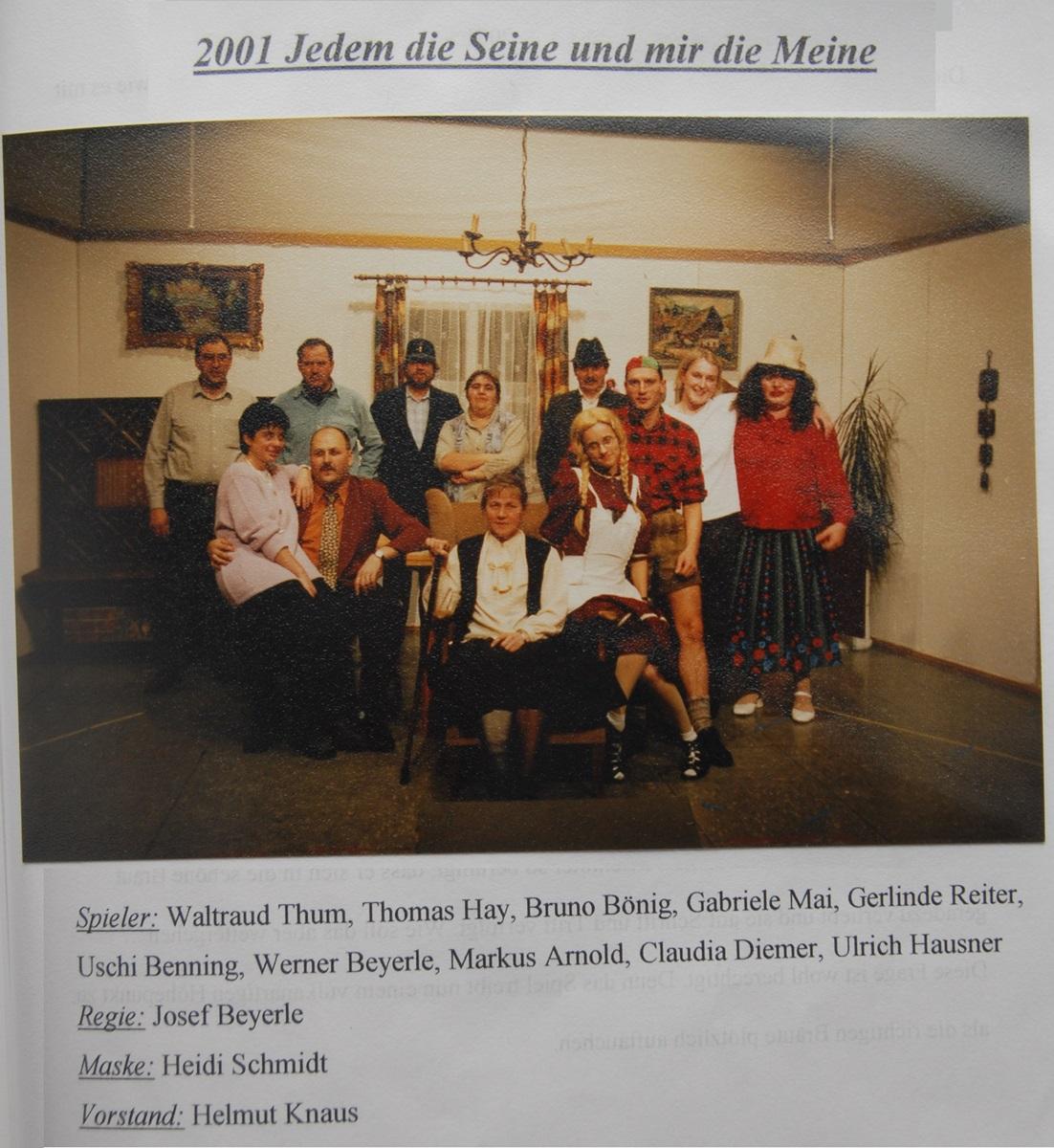 KSC-Theater-2001-Jedem-die-Seine-und-mir-die-Meine